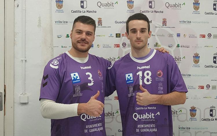 Íñigo Barricart y Kostadin Petrov abandonan la disciplina del BM Guadalajara la próxima temporada
