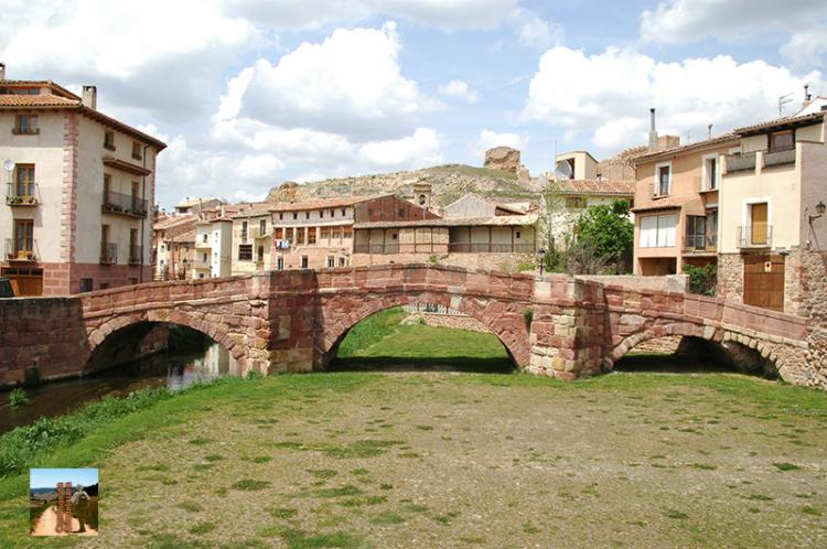 Molina de Aragón, Puente sobre el río Gallo