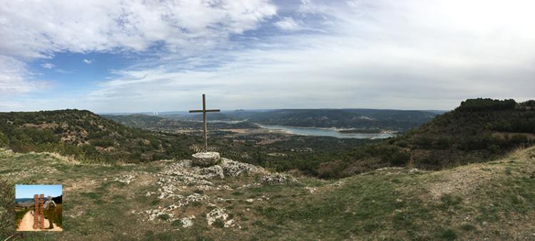 Mirador de la Cruz de la Piedra en El Olivar