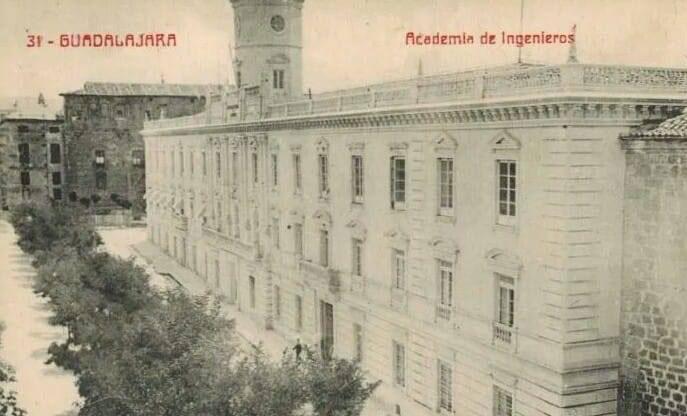 Palacio de los marqueses de Montesclaros, fue reconvertido en la Academia de Ingenieros