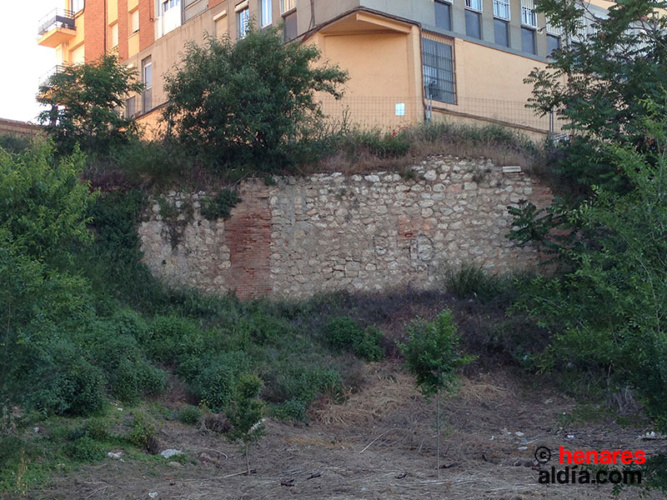 Restos de la muralla de Guadalajara