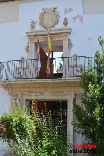 Portada del antiguo palacio de los Guzmán
