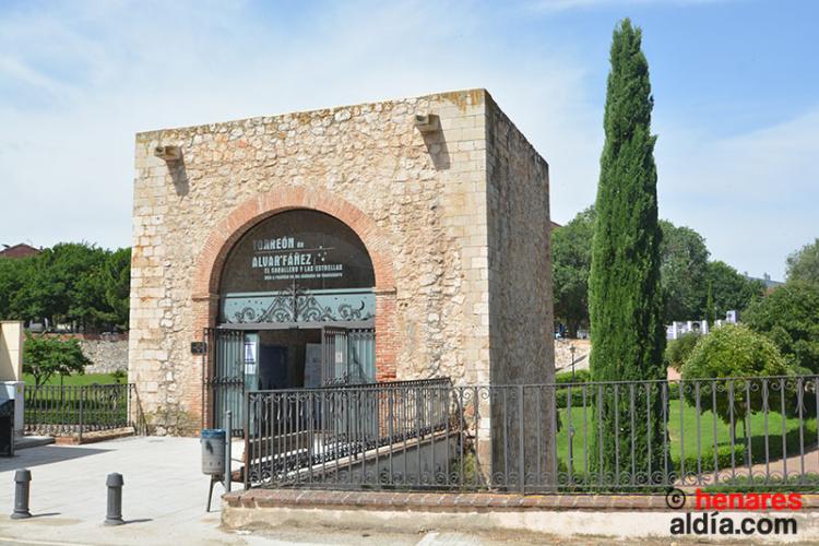 El torreón de Alvar Fáñez se conservó porque se convirtió en ermita de Cristo de Feria