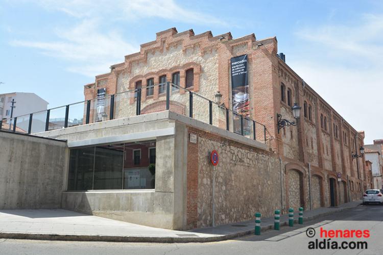 El mercado de abastos se construyó sobre el antiguo convento de San Antonio