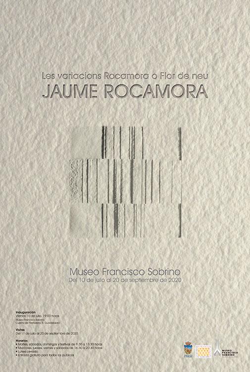 La obra geométrica y en relieve de Jaume Rocamora se expone desde este viernes en el Museo Sobrino