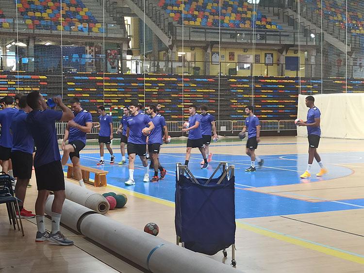 Arrancan los primeros entrenamientos del Quabit BM Guadalajara