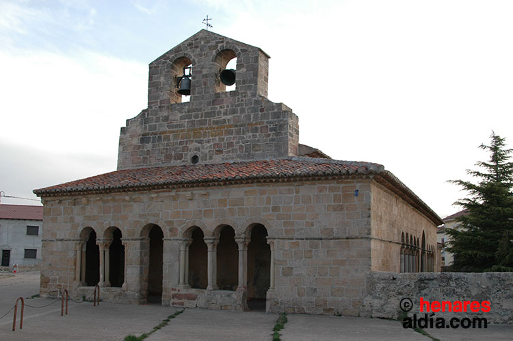 Iglesia románica de Saúca, una de las beneficiarias