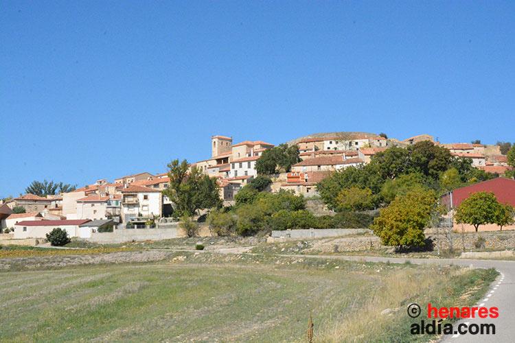 Vista general de Labros, perteneciente a la Sexma del Campo del Real Señorío de Molina.