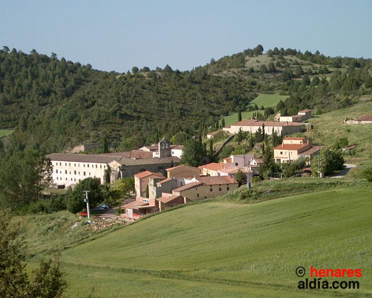 Vista de Buenafuente del Sistal, cuyo monasterio fue fundado en el siglo XIII