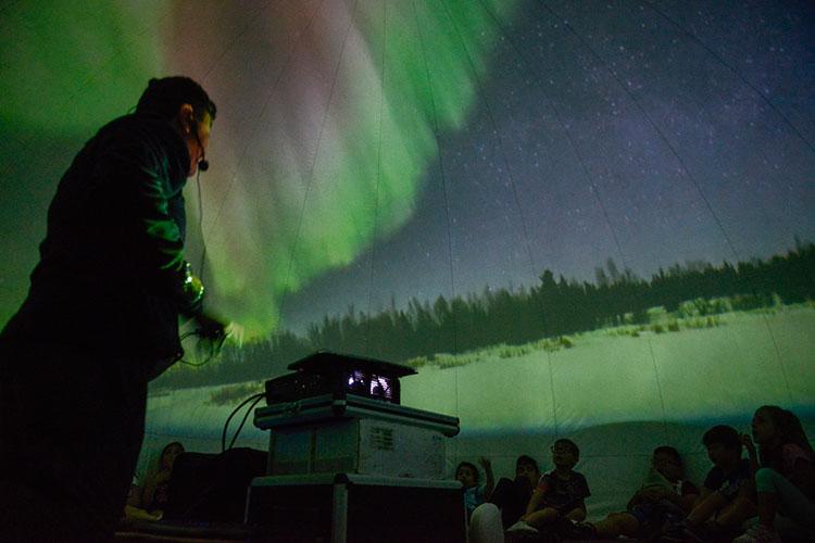 El Aula Municipal de Astronomía de Yebes no abrirá este curso como medida preventiva