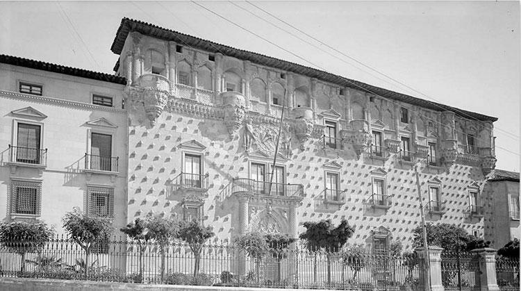 El Palacio del Infantado, con anterioridad a 1936