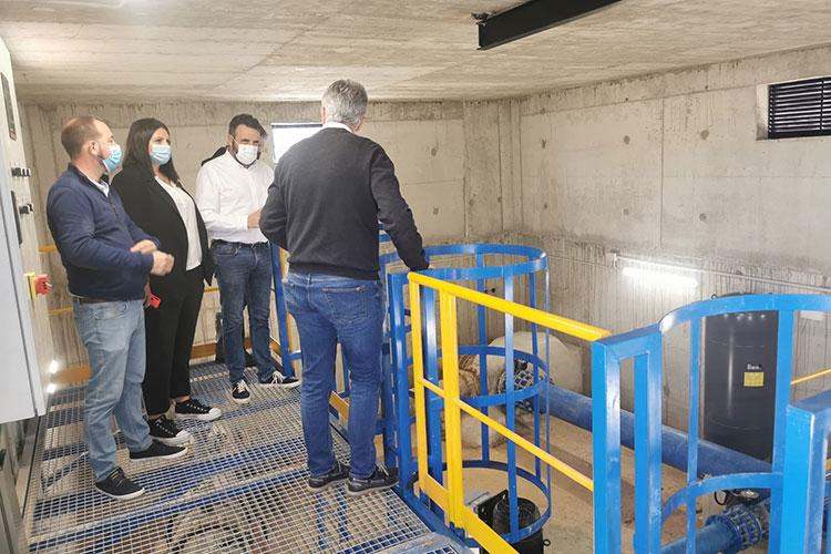 Entra en funcionamiento el nuevo depósito de agua de Azuqueca con capacidad para 5.000 metros cúbicos