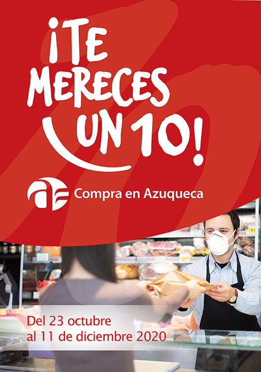 La campaña 'Te mereces un 10' fomenta el consumo en Azuqueca