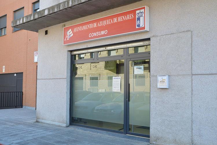 Exterior de la Oficina Municpal de Información al Consumidor. Fotografía: Ayuntamiento de Azuqueca