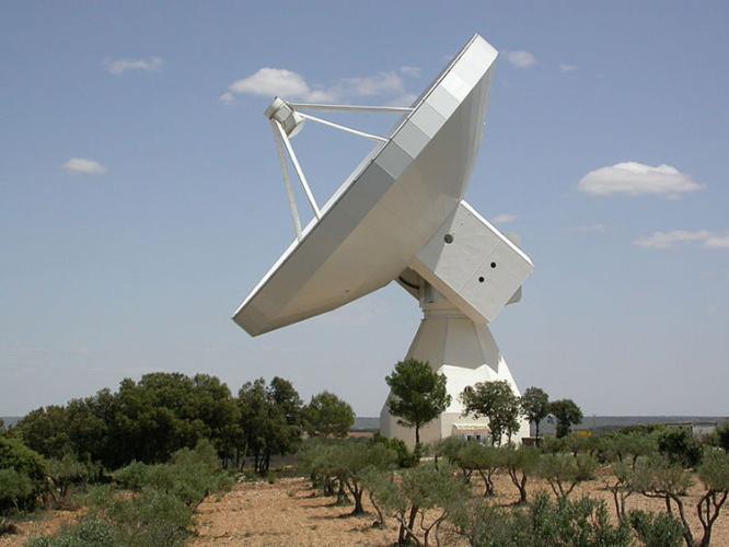 Radiotelescopio 40 metros Yebes