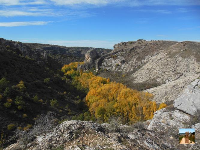 Vista del Parque Natural del Río Dulce, en una imagen de otoño.