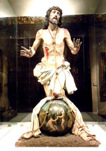 El Cristo del Perdón fue creado por Salvador Carmona para la capilla del Hospital