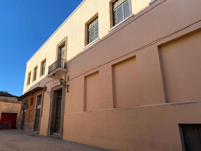 Estado actual del edificio del Ateneo de Guadalajara