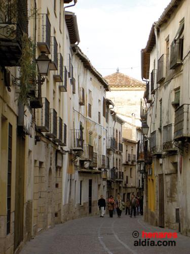 Una calle de Pastrana