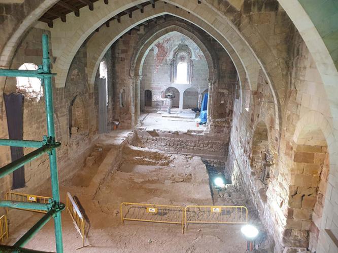 Las huellas de la historia en la Iglesia de Santiago
