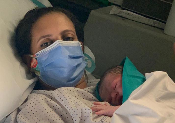 Adam es el primer bebé nacido en Castilla-La Mancha y nació en el Hospital de Hellín