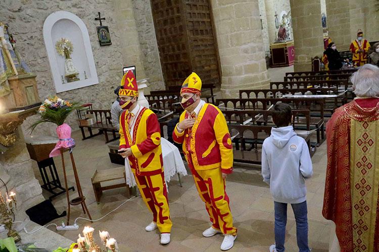 Albalate de Zorita celebró San Blas con restricciones