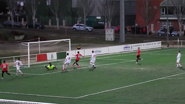 El Hogar Alcarreño sigue invicto tras su empate con el Cabanillas (1-1)