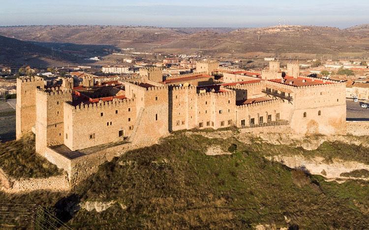 El reflejo del seguntino, su Castillo