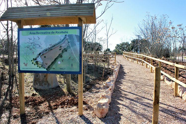 El Área Recreativa de Alcohete es la tercera zona verde más grande de Yebes