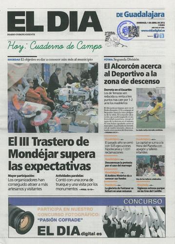 Último número de El Día de Guadalajara