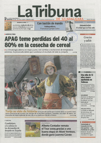 Último número de La Tribuna de Guadalajara