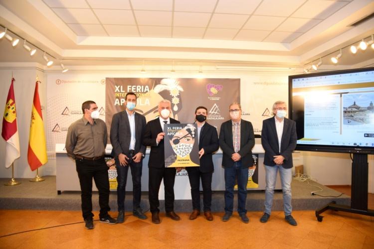 Presentación de la nueva edición de la Feria Apícola de Pastrana