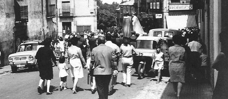 Cabezudos (1967). Foto de Antonio Nicolás Ochaíta