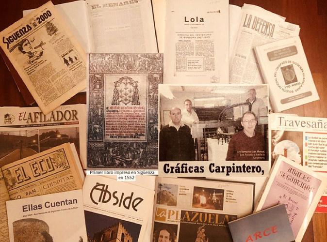 Los primeros antecedentes documentados de la imprenta en Sigüenza datan del XVI