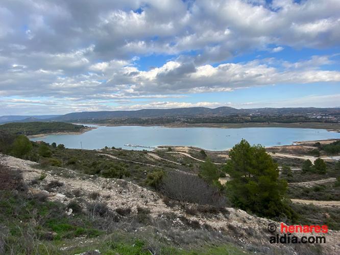 El Pantano de Estrepeñas desde el Mirador de San Julián en Sacedón