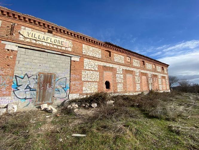 Estado actual del poblado de Villaflores