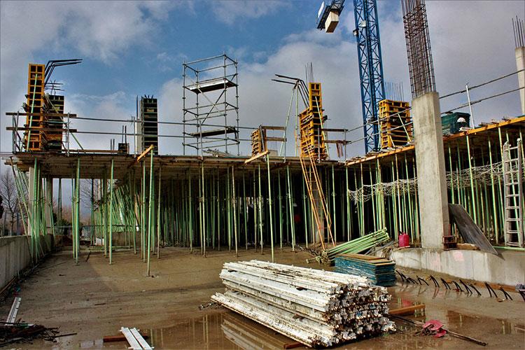 La próxima primavera concluirán las obras del Edificio Multiusos de Valdeluz