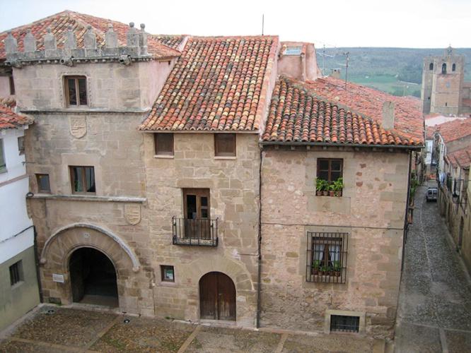 Casa del Doncel. Foto Fundación Ciudad de Sigüenza