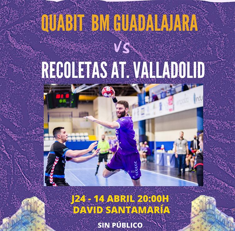 El Quabit se la juega en casa esta tarde ante el Valladolid