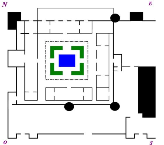 Plano del Alcázar de Guadalajara