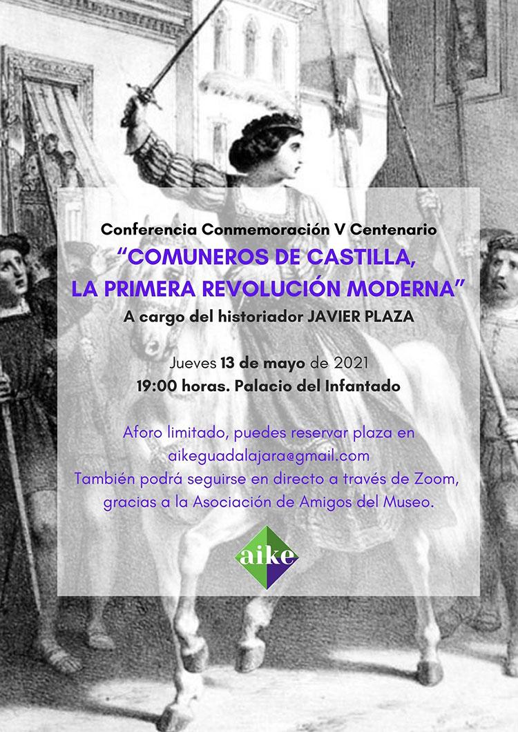 AIKE organiza una conferencia sobre la revolución de los Comuneros de Castilla