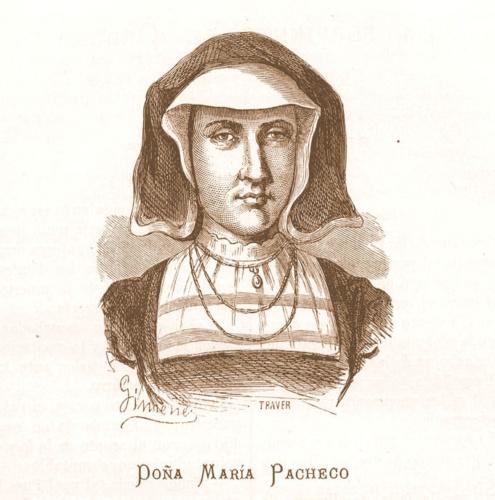María de Padilla, ideada en 1872