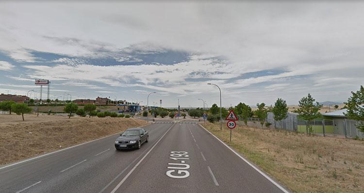 Lugar aproximado donde se construirá la pasarela (Foto Google Maps)