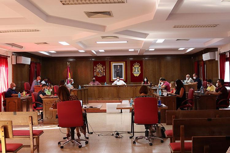 Sesión ordinaria del Pleno del Ayuntamiento de Azuqueca. Fotografía: Ayuntamiento de Azuqueca
