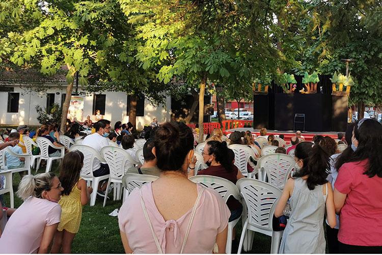 Titiriqueca arrancó el sábado, 3 de julio, en el parque de La Constitución