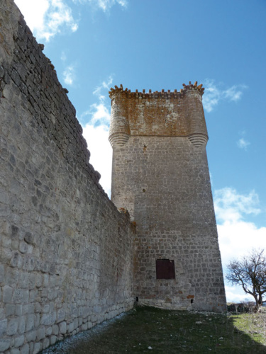 Torre del Homenaje de la fortaleza galvita.