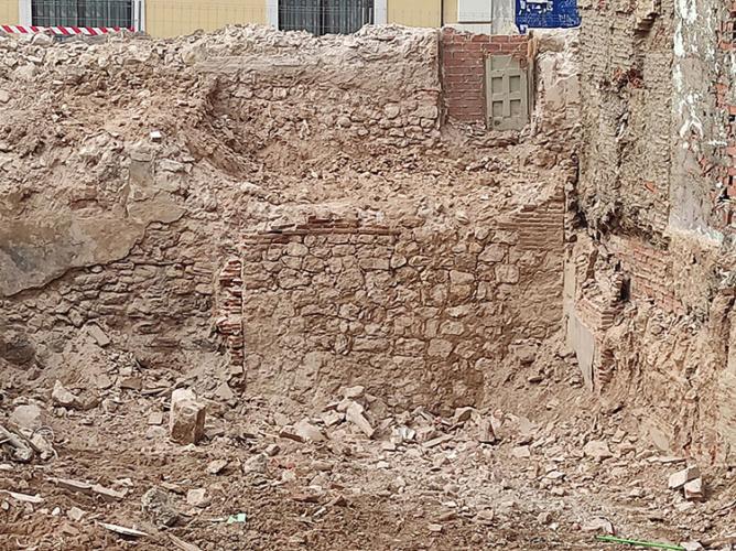 Foto muralla. Foto: Óscar de Marcos