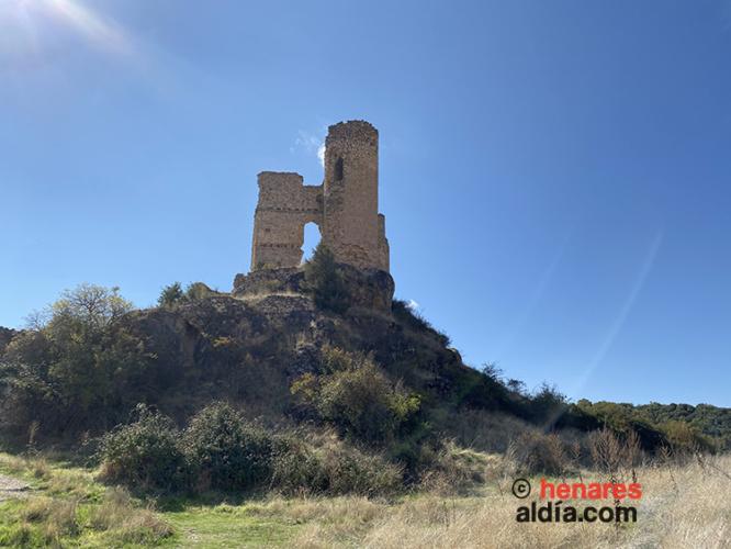 Castillo de Pelegrina, en Pelegrina, Sigüenza