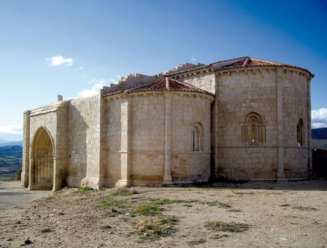 Uceda, iglesia románica de la Virgen de la Varga.