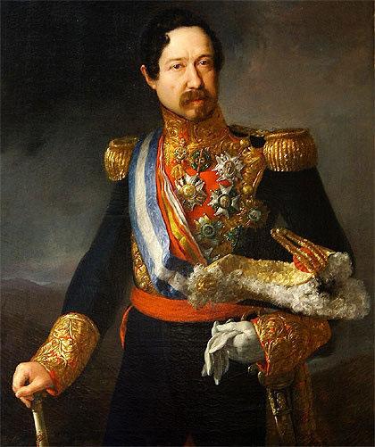 Lorenzo Arrazola se convirtió en uno de los hombres de confianza del General Narváez